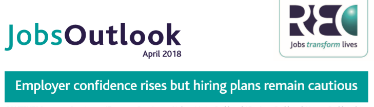 Jobs Outlook Report April 2018